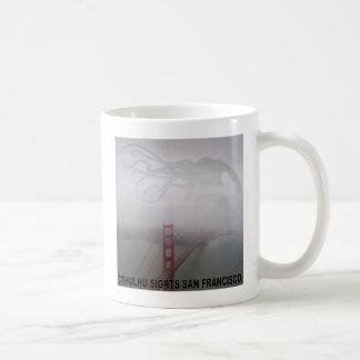 Cthulhu Sights San Francisco Basic White Mug
