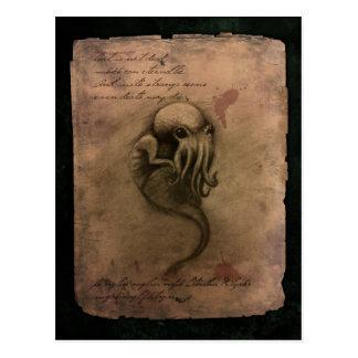 Cthulhu Spawn Postcard