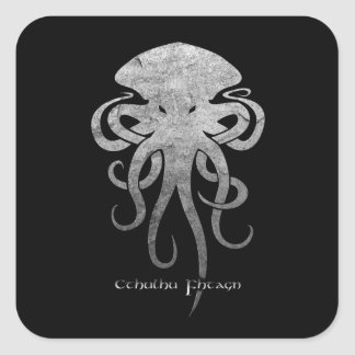 Cthulhu Square Sticker