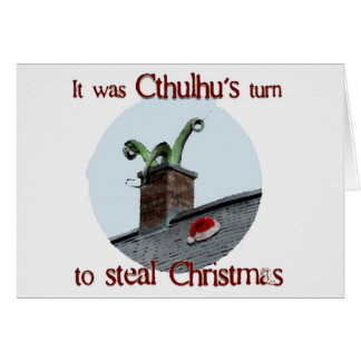 Cthulhu Steals Card