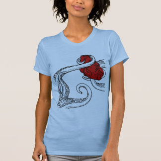 Cthulhu Stole My Heart Tank Top - Clear Tentacles