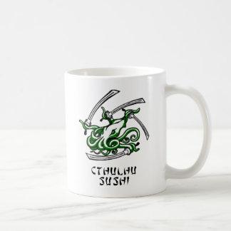 Cthulhu Sushi Coffee Mug