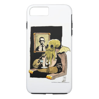 Cthulhu Taking Tea - Cellphone Case