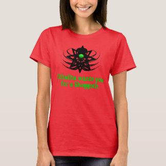 Cthulhu Wants You For A Shoggoth (egg1) T-Shirt