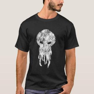 Cthulhu White Silhouette T-Shirt
