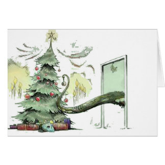 Cthulhu's Christmas Tree Card