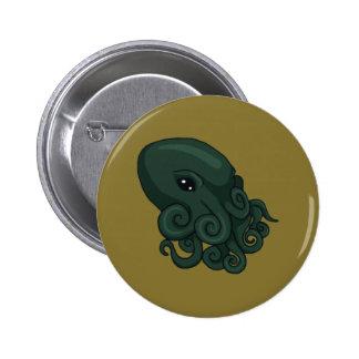 Cthulu Logo 6 Cm Round Badge