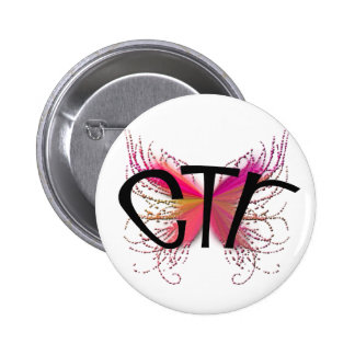 CTR Butterfly 6 Cm Round Badge