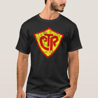 CTR Choose the Right LDS Mormon Christian Shield T-Shirt