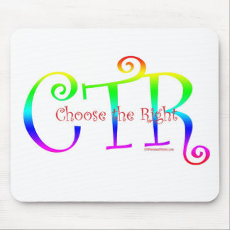 CTR-CHOOSE THE RIGHT MOUSE PAD