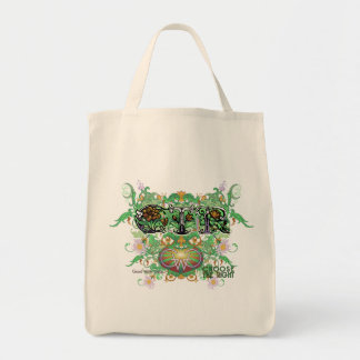 CTR Grocery Tote Flourish Style -F CC04 Grocery Tote Bag