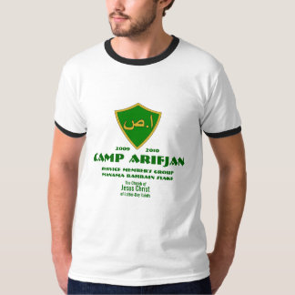 CTR Shield Arabic, Camp Arifjan, Service Member... T-Shirt