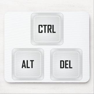 Ctrl Alt Del Mousepads