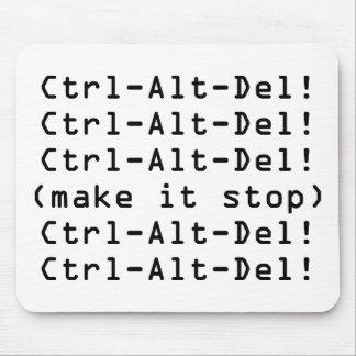 Ctrl-Alt-Del Mouse Pad