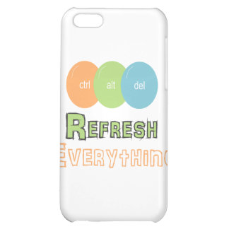 ctrl alt del Refresh Everything Cover For iPhone 5C