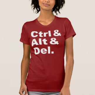 Ctrl & Alt & Del Shirt