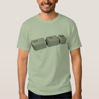 Ctrl Alt LED T-shirts
