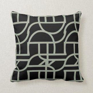 Ctrl (-black) pillow
