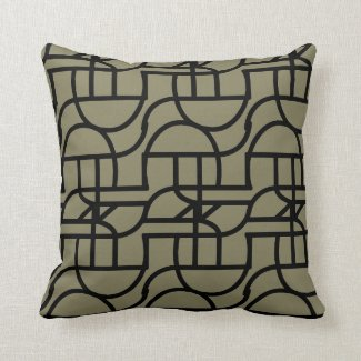 Ctrl (+black) pillow