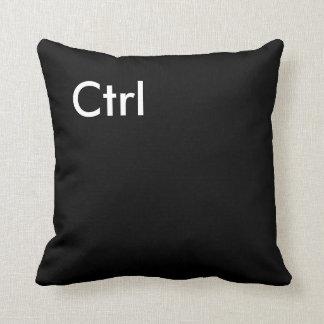 """Ctrl"" Computer Key Pillow"