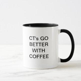 CT's GO BETTER WITH COFFEE Mug