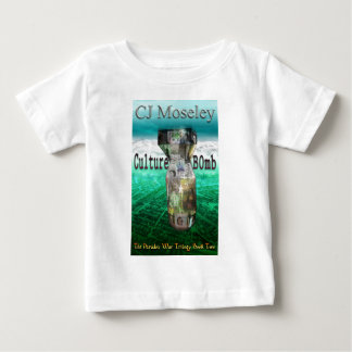 Cu1ture B0mb book cover Baby T-Shirt