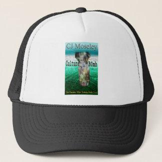 Cu1ture B0mb book cover Trucker Hat