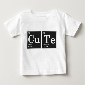 CU TE periodic elements Baby T-Shirt