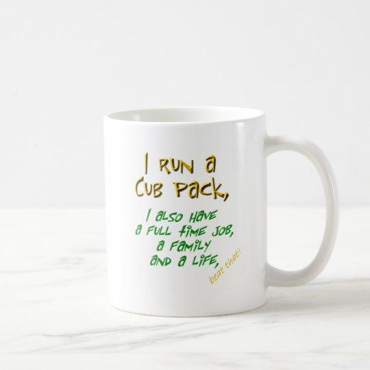 cub leader green coffee mug