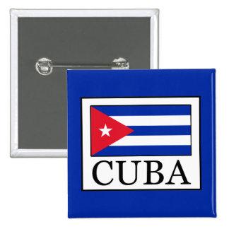 Cuba 15 Cm Square Badge