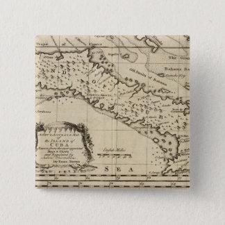 Cuba 3 15 cm square badge