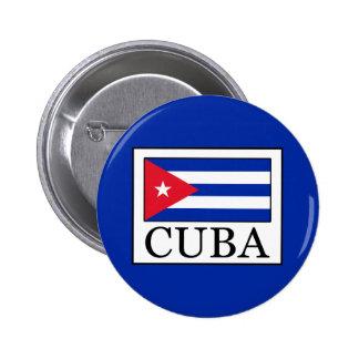 Cuba 6 Cm Round Badge