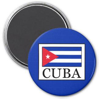 Cuba 7.5 Cm Round Magnet