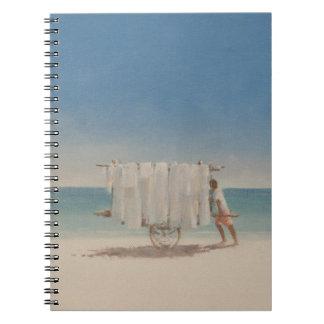 Cuba Beach Seller 2010 Spiral Notebook