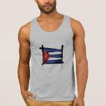 Cuba Brush Flag Tank Top