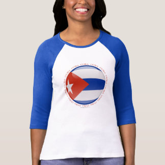 Cuba Bubble Flag T-Shirt