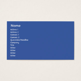 Cuba - Business Business Card