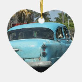 Cuba car ceramic heart decoration