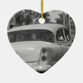 Cuba Car Christmas Ornament
