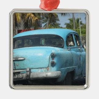 Cuba car christmas ornament