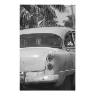 Cuba Car Personalised Stationery