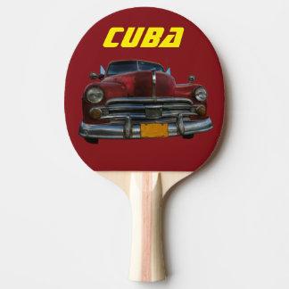 Cuba car souvenier ping pong paddle