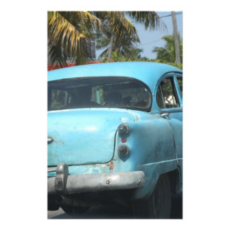 Cuba car stationery paper
