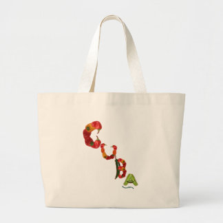 Cuba Chili Peppers Canvas Bag