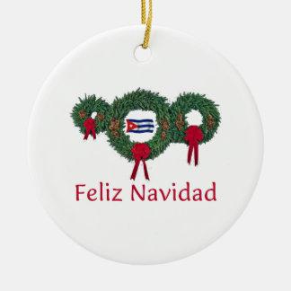 Cuba Christmas 2 Christmas Ornament