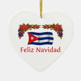 Cuba Christmas Christmas Ornament