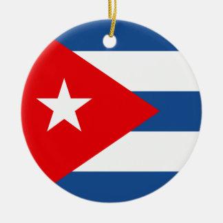Cuba Christmas Ornament