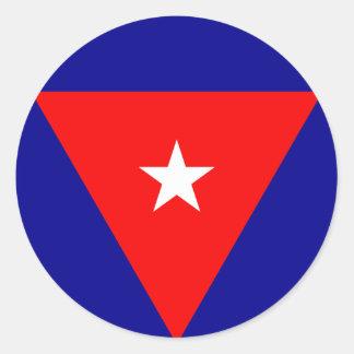 cuba classic round sticker
