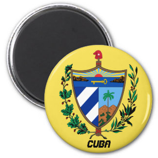 Cuba Coat Arms Kitchen Magnet