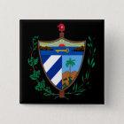 cuba coat of arms 15 cm square badge